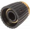 Knob - Black, Cap, Set Screw, for Marshall image 4