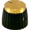 Knob - Set Screw, Marshall Style, black image 1
