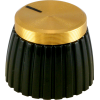 Knob - Marshall, Brown, Gold Cap, Push-On, Single image 1