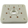 Socket - 7 Pin, Large, Ceramic Plate for 6C33C image 1