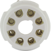Socket - 8 Pin Octal, Ceramic PC Mount image 2