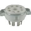 Socket - 8 Pin Octal, Ceramic image 1