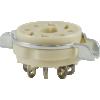 Socket - 8 Pin Ceramic, High Quality image 1