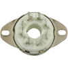 """Socket - 8 Pin Octal, 7/8"""" Fits in 1"""" Hole with Bracket PC Mount image 3"""