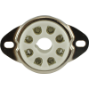 "Socket - 8 pin octal, 1"" with bracket image 2"