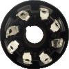 "Socket - 8 Pin, Chassis Hole 1.14"" image 3"