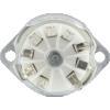 Socket - 9 Pin, Ceramic, PC Mount with Aluminum Shield image 3