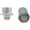 Socket - 9 Pin, Ceramic Base with Aluminum Shield image 2