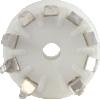 Socket - 9 Pin, Miniature, Standoff Ceramic PC Mount image 3