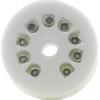 Socket - 9 Pin, Standoff Ceramic PC Mount image 2
