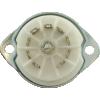 Socket - 9 pin miniature, ceramic, bottom or top mount image 3