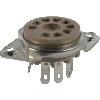 "Socket - 9 Pin, 3/4"" mounting hole, top mount image 1"