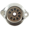 Socket - Belton, 9 Pin, Crimped with Shield Base, PC mount image 2