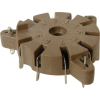 Socket - 9 Pin, for Auto-Wave Soldering, Made in China image 1