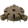 Socket - Belton, 9 Pin, for Auto-Wave Soldering image 1