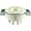 Socket - 9 Pin, Ceramic, Magnoval image 1