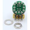 Potentiometer - Fender®, S-1, Knurled Shaft, 4PDT image 2