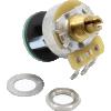 Potentiometer - Fender®, S-1, Knurled Shaft, 4PDT image 1