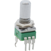 Potentiometer - Alpha, Reverse Audio, 9mm, Vertical, 50K image 1