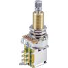 Potentiometer - 500K, Linear, Knurled Long, DPDT, Push-Push image 1