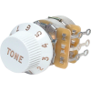 Potentiometer - Fender®, 250kΩ, Tone Control, for Tele / Strat image 1