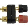 Binding Post - Dual, Gold-Plated, for banana plugs image 4