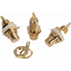 RCA Jack - Chassis Mount, Front Mount, Gold Plated image 5