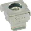 Nut - Cage, Zinc, 10/32, Electroplate Panel Range .064-.105 image 1