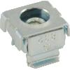 Nut - Cage, Zinc, 8-32, Electroplate Panel Range .064-.105 image 1