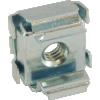 Nut - Cage, Zinc, 8-32, Electroplate Panel Range .064-.105 image 2