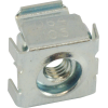 Nut - Cage, Zinc, 8-32, Electroplate Panel Range .064-.105 image 3