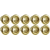 Eyelets - Brass, .121 x .125 x .200; MT .0095, package of 10 image 2
