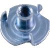 Nut - T-Nut, Zinc image 3