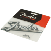 Logo - Fender, Blackface, silver on black image 3