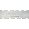 """Notched Straightedge - 16.5"""" x 1.5"""", Stainless Steel, Satin image 2"""