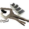 Fret Press - Handheld, 4 cauls, for seating frets image 1