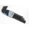 Hex Key Set - Allen®, Long Arm, 9 Piece, Metric image 1