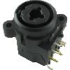 "XLR Jack - Amphenol, 3-Pole, PC Mount, 1/4"" Stereo Jack image 3"