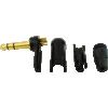 "1/4"" Plug - Neutrik, Right-angle, black plastic, gold contacts image 4"