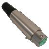 Plug - Switchcraft, premium XLR, 3-Pin, cable-mount image 1