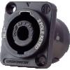 Speaker Twist Jack - Neutrik, speakON, 2-pole, panel mount image 1