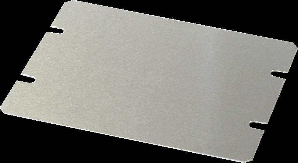 """Cover Plate - Hammond, Aluminum, 4.5"""" x 3.5"""""""