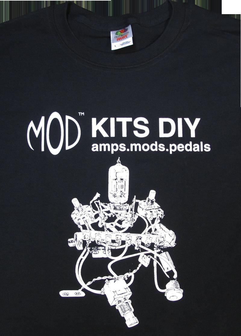Black t shirt diy - T Shirt Mod Kits Diy Black Image 1