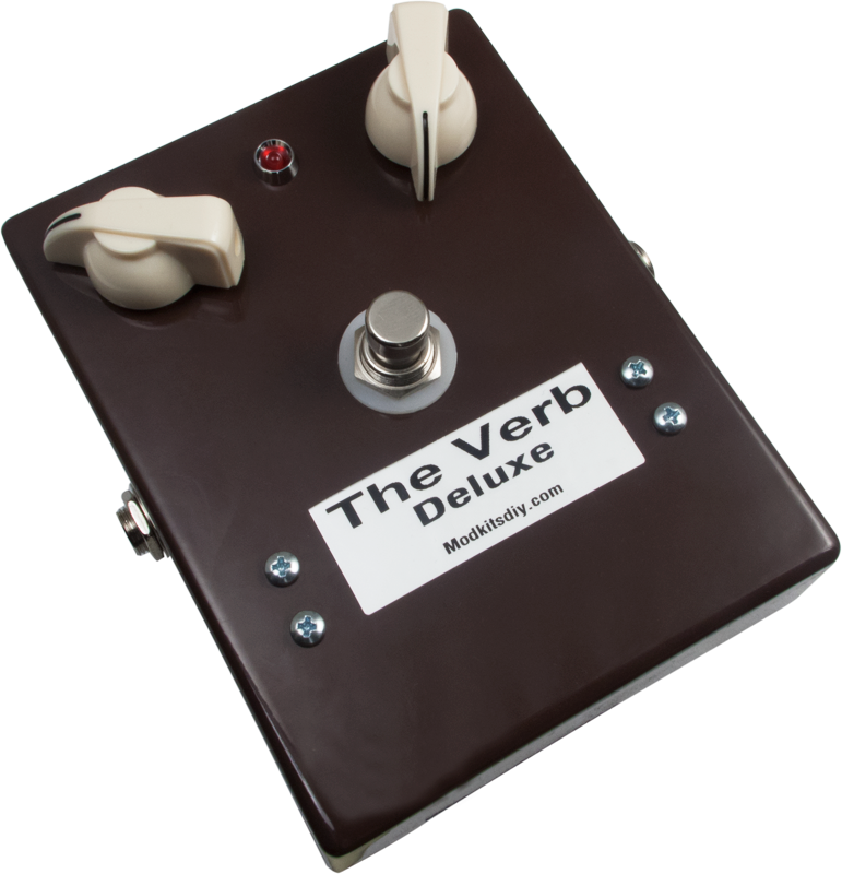 Effects pedal kit mod kits the verb deluxe digital reverb effects pedal kit mod kits the verb deluxe digital reverb image 1 solutioingenieria Images