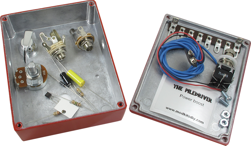 effects pedal kit mod kits the piledriver power boost rh amplifiedparts com Basic Electrical Wiring Diagrams LG Mini Split Wiring-Diagram