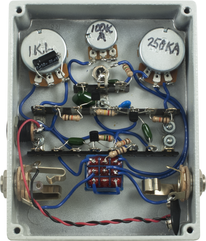 effects pedal kit mod kits the contortionist ii fuzz amplified parts. Black Bedroom Furniture Sets. Home Design Ideas