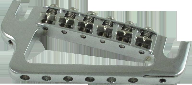 Bridge - Hipshot, Baby Grand Guitar, Chrome   Amplified Parts