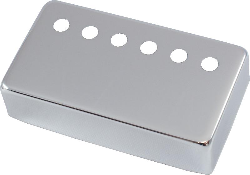 Humbucker Pickup Cover nicht vernickelt Raw Nickel Silber 50mm Pole Spacing