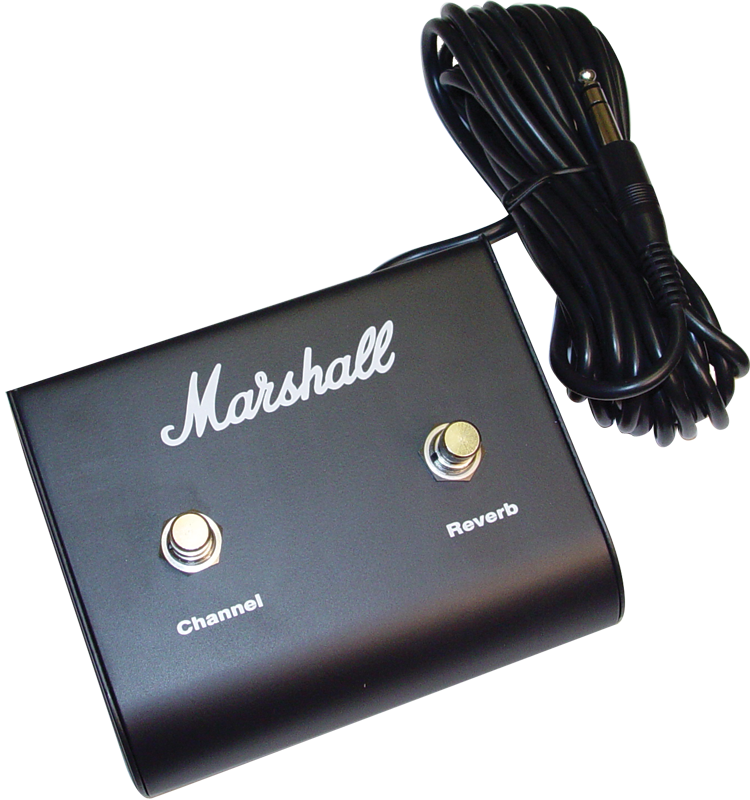 footswitch marshall two button channel reverb amplified parts. Black Bedroom Furniture Sets. Home Design Ideas