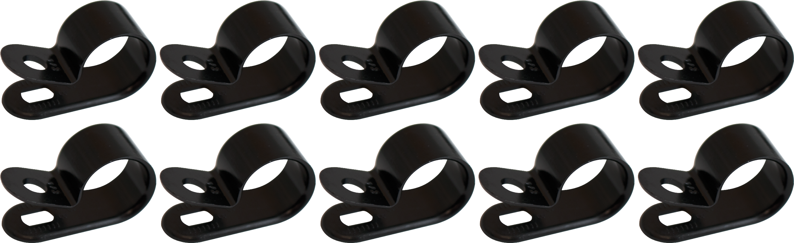 """Cable Clamp - for 1/2"""" Cable Diameter, Nylon"""